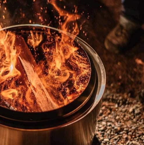 3. Single Range Bonfire Flame Pit