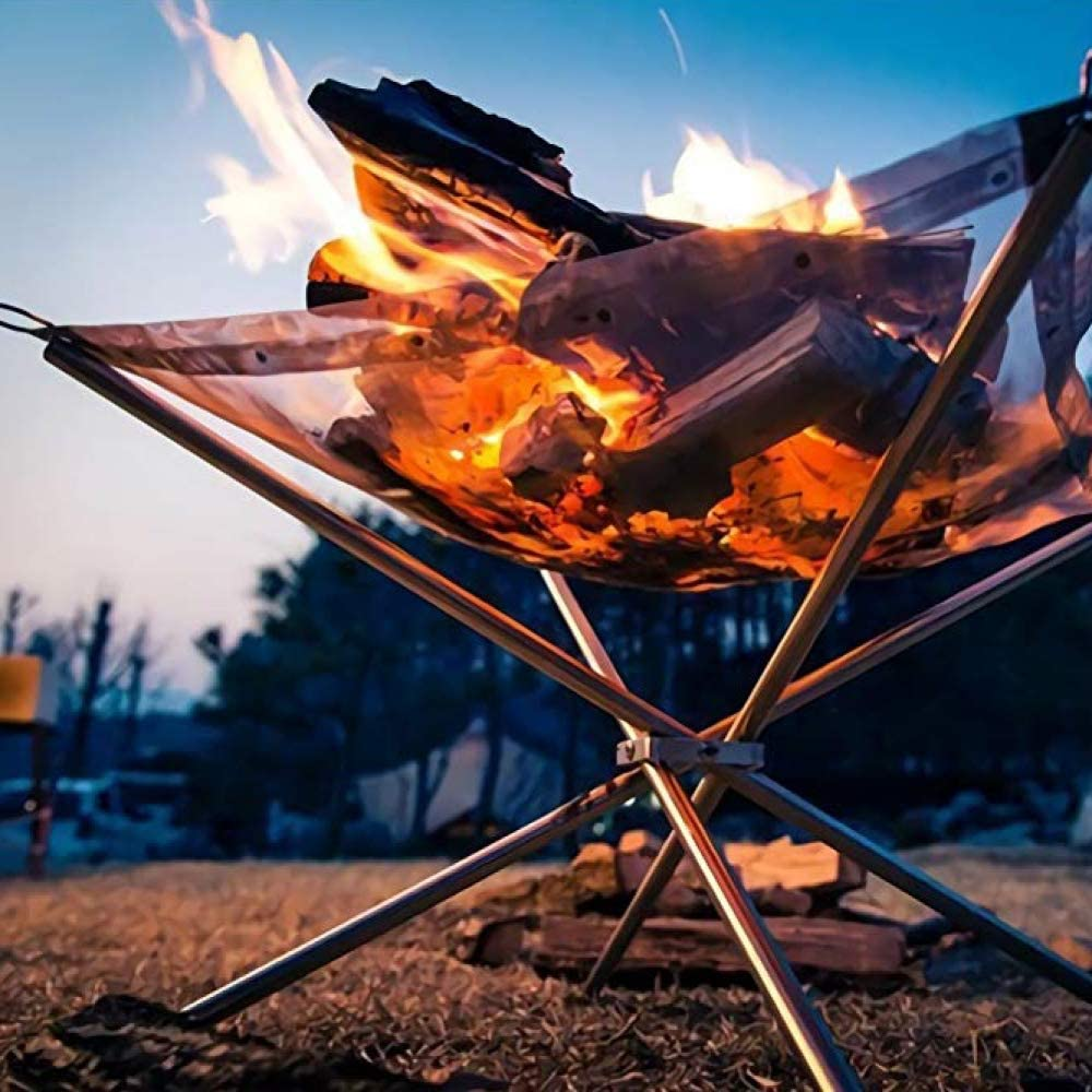 5. Rootless Portable Exterior Fire Pit